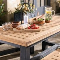 Wylam Outdoor Dining Table And Benches | Outdoor Collection